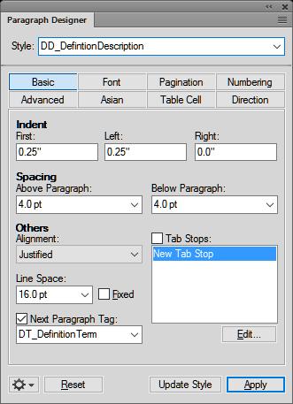 create a paragraph