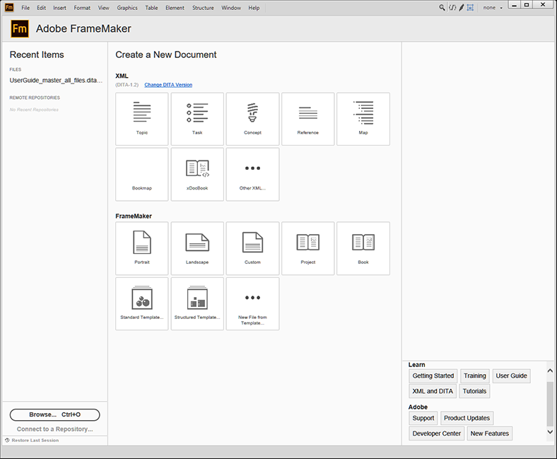 Authoring and productivity enhancements
